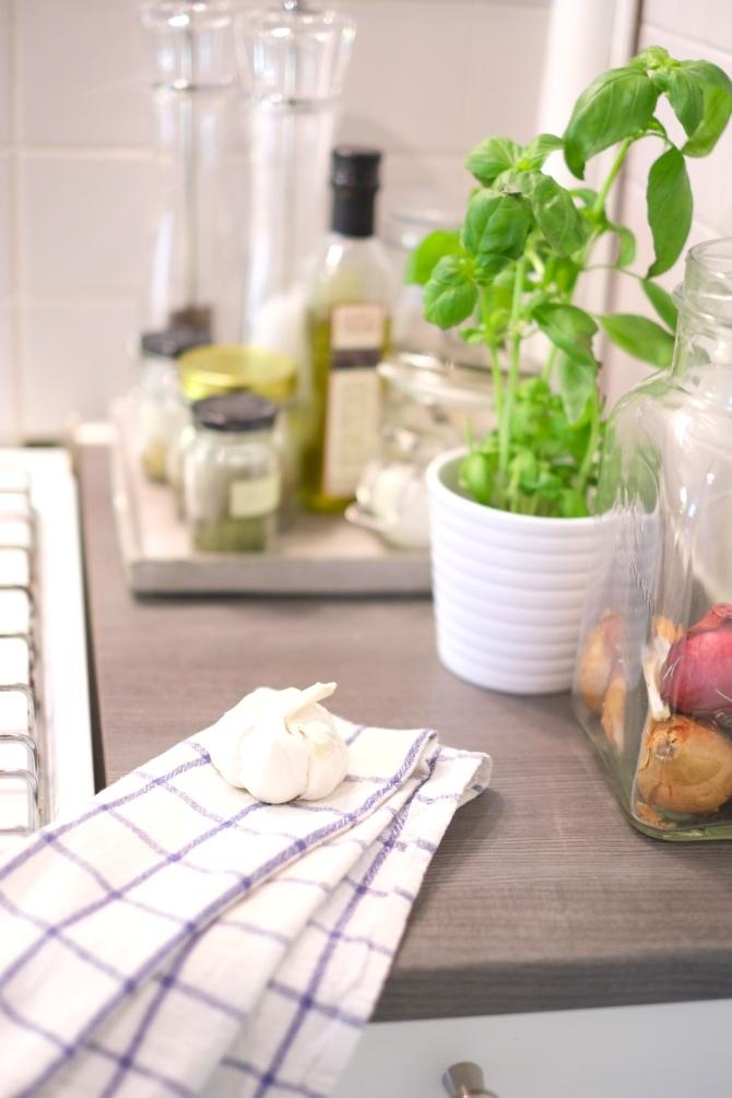 Harmaa keittio | Kauniit neliot