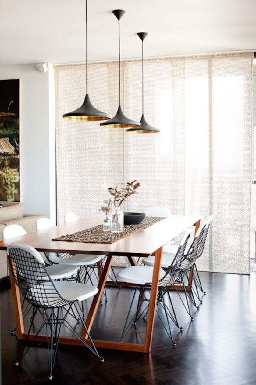 Tom Dixon dining room